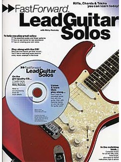 Fast Forward: Lead Guitar Solos Books and CDs | Guitar Tab, with chord symbols