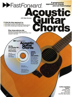 Fast Forward: Acoustic Guitar Chords Books and CDs | Guitar, with guitar chord boxes