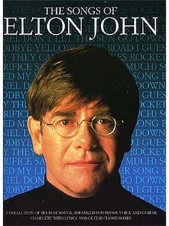The Songs Of Elton John Books | Piano and Voice, with Guitar chord boxes