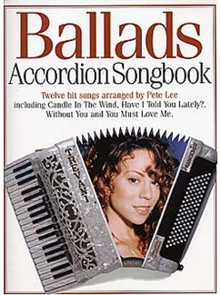 Accordion Songbook Ballads Books | Accordion