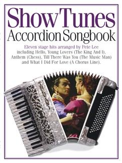 Accordion Songbook Show Tunes Books | Accordion