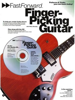 Fast Forward: Finger-Picking Guitar Books and CDs | Guitar Tab, with chord symbols