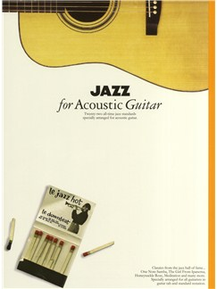 Jazz For Acoustic Guitar Books | Guitar Tab, with chord symbols