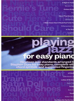 Playing Jazz For Easy Piano Books | Easy Piano