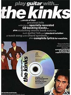 Play Guitar With... The Kinks Books and CDs | Guitar Tab, with chord symbols