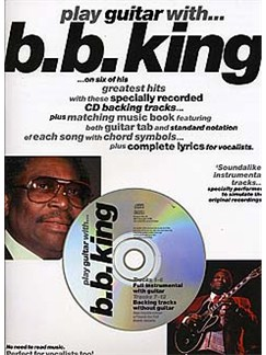 Play Guitar With... B.B. King Books and CDs | Guitar Tab