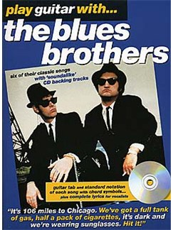 Play Guitar With... The Blues Brothers CD et Livre | Tablature Guitare (Symboles d'Accords)