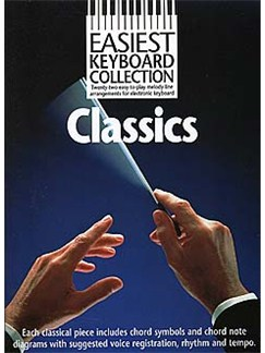 Easiest Keyboard Collection: Classics Books | Melody line with lyrics and chord symbols