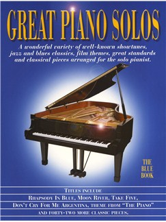 Great Piano Solos - The Blue Book Books | Piano