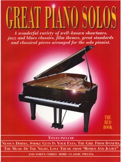 Great Piano Solos - The Red Book Books | Piano
