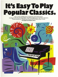 It's Easy To Play Popular Classics Books | Piano & Guitar, with chord symbols