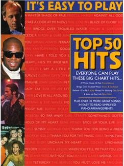 It's Easy To Play Top 50 Hits 2 Books | Piano, Vocal & Guitar (with Chord Symbols)