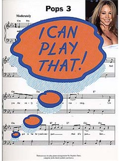 I Can Play That! Pops 3 Books | Piano, Lyrics & Chords