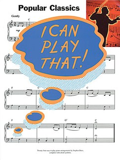 I Can Play That! Popular Classics Books | Piano, Lyrics & Chords