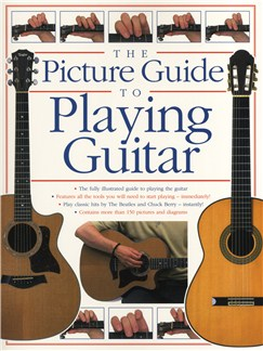 The Picture Guide To Playing Guitar Books | Guitar