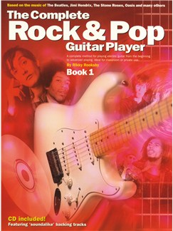 The Complete Rock And Pop Guitar Player: Book 1 (Revised Edition) Books and CDs | Guitar