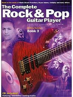 The Complete Rock And Pop Guitar Player: Book 3 (Revised Edition) Books and CDs | Guitar