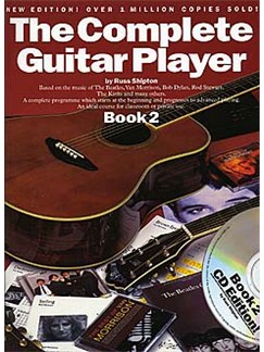The Complete Guitar Player - Book 2 With CD (New Edition) Books and CDs | Guitar, with chord symbols
