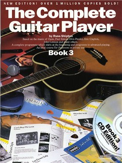 The Complete Guitar Player - Book 3 With CD (New Edition) Books and CDs | Guitar, with chord symbols