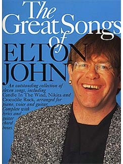 The Great Songs Of Elton John Books | Piano and Voice, with Guitar chord boxes