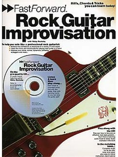 Fast Forward: Rock Guitar Improvisation Books and CDs | Guitar Tab, with chord symbols