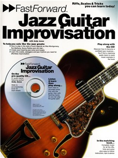 Fast Forward: Jazz Guitar Improvisation Books and CDs | Guitar, with chord symbols