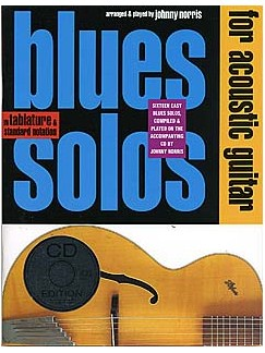 Blues Solos For Acoustic Guitar Books and CDs | Guitar Tab, with chord symbols