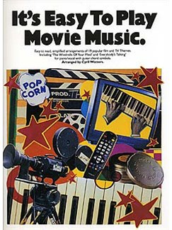It's Easy To Play Movie Music Livre | Piano, Chant et Guitare (Symboles d'Accords)