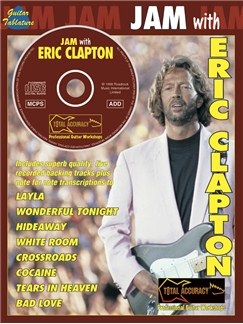 Jam With Eric Clapton CD et Livre | Tablature Guitare (Symboles d'Accords)