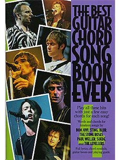 The Best Guitar Chord Songbook Ever 4 Books | Lyrics & Chords, with chord symbols