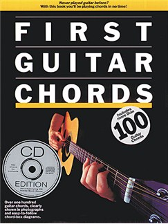 First Guitar Chords (Book/CD) Books and CDs | Guitar, with guitar chord boxes
