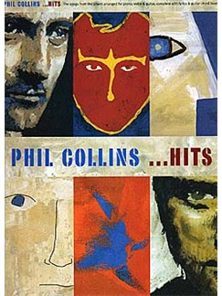 Phil Collins: ...Hits Books | Piano and Voice, with Guitar chord boxes