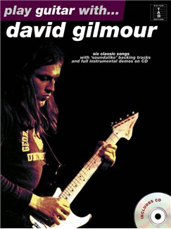 Play Guitar With... David Gilmour CD et Livre | Tablature Guitare (Symboles d'Accords)