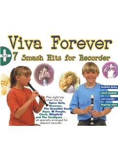Viva Forever + 7 Smash Hits For Recorder Books | Recorder