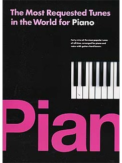 The Most Requested Tunes In The World For Piano Books | Piano and Voice, with Guitar chord boxes