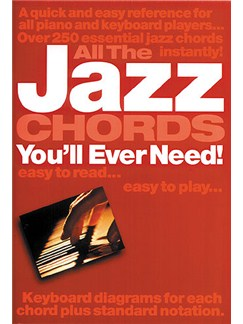 All The Jazz Chords You'll Ever Need Books | Piano