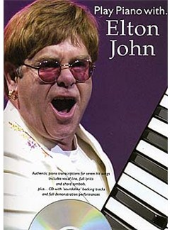 Play Piano With... Elton John CD et Livre | Piano, Chant et Guitare (Symboles d'Accords)