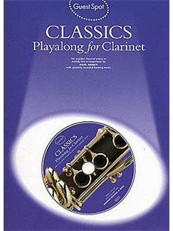 Guest Spot: Classics Playalong For Clarinet Books and CDs | Clarinet