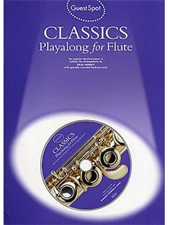 Guest Spot: Classics Playalong For Flute Books and CDs | Flute