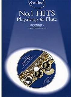 Guest Spot: No.1 Hits Playalong For Flute Books and CDs | Flute