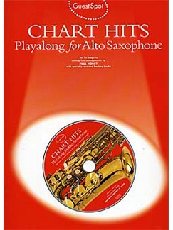 Guest Spot: Chart Hits Playalong for Alto Saxophone Books and CDs | Alto Saxophone