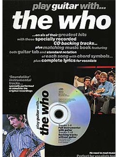 Play Guitar With... The Who Books and CDs | Guitar Tab, with chord symbols