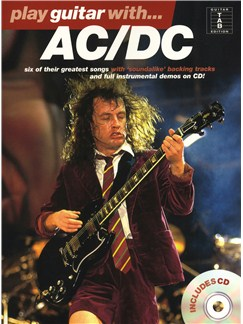 Play Guitar With... AC/DC Books and CDs | Guitar Tab, with chord symbols