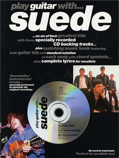 Play Guitar With... Suede Books and CDs | Guitar Tab, with chord symbols