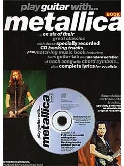Play Guitar With... Metallica Book 2 Buch und CD | Gitarrentabulatur (mit Akkordsymbolen)