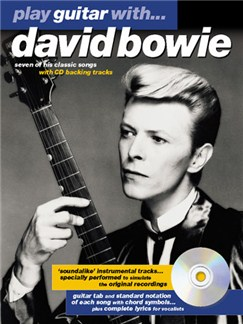 Play Guitar With... David Bowie Books and CDs | Guitar Tab, with chord symbols