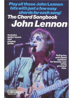 John Lennon: The Chord Songbook Books | Lyrics & Chords, with guitar chord boxes