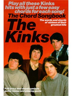 The Kinks: The Chord Songbook Books | Lyrics & Chords(with Chord Boxes)