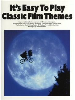 It's Easy To Play Classic Film Themes Livre | Piano et Guitare (Symboles d'Accords)