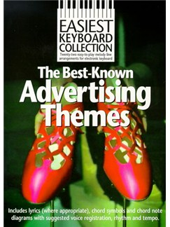 Easiest Keyboard Collection: Advertising Themes Books | Keyboard